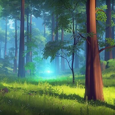 Milan vasek forest test
