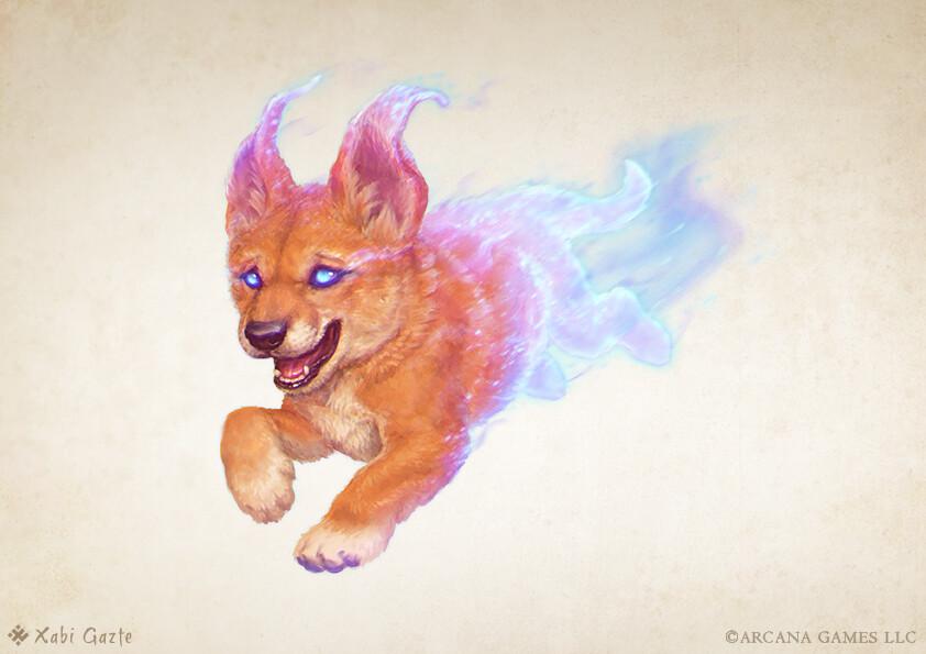Blink Dog Pup