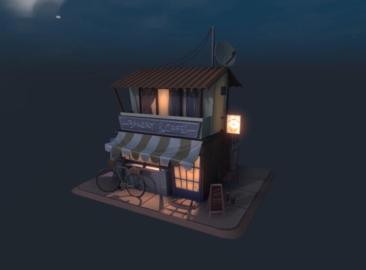Day 3 Progress - Night Lighting