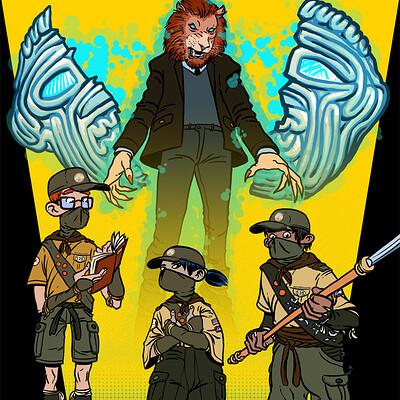 Martin plsko preview ninja scouts 00