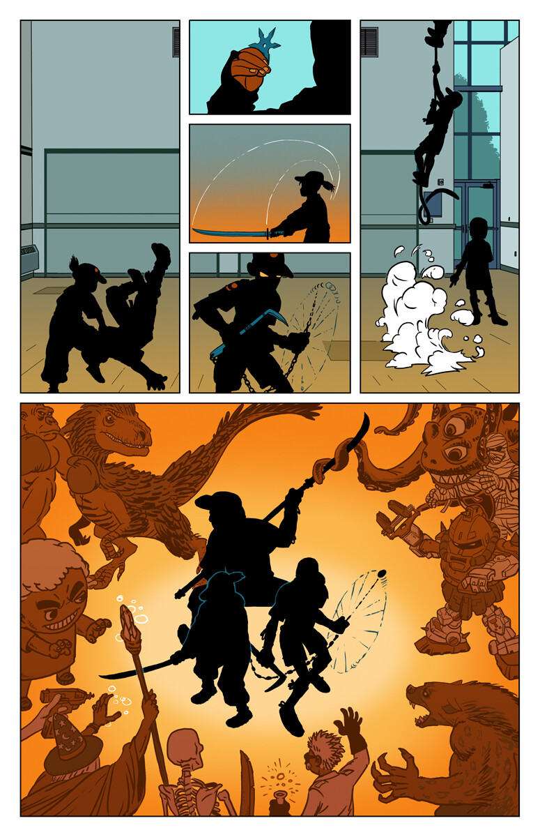 The Ninja scouts, page 2