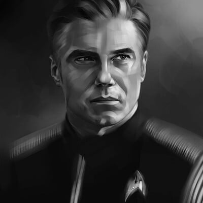 Lee bryan anson mount as capt pike 2020