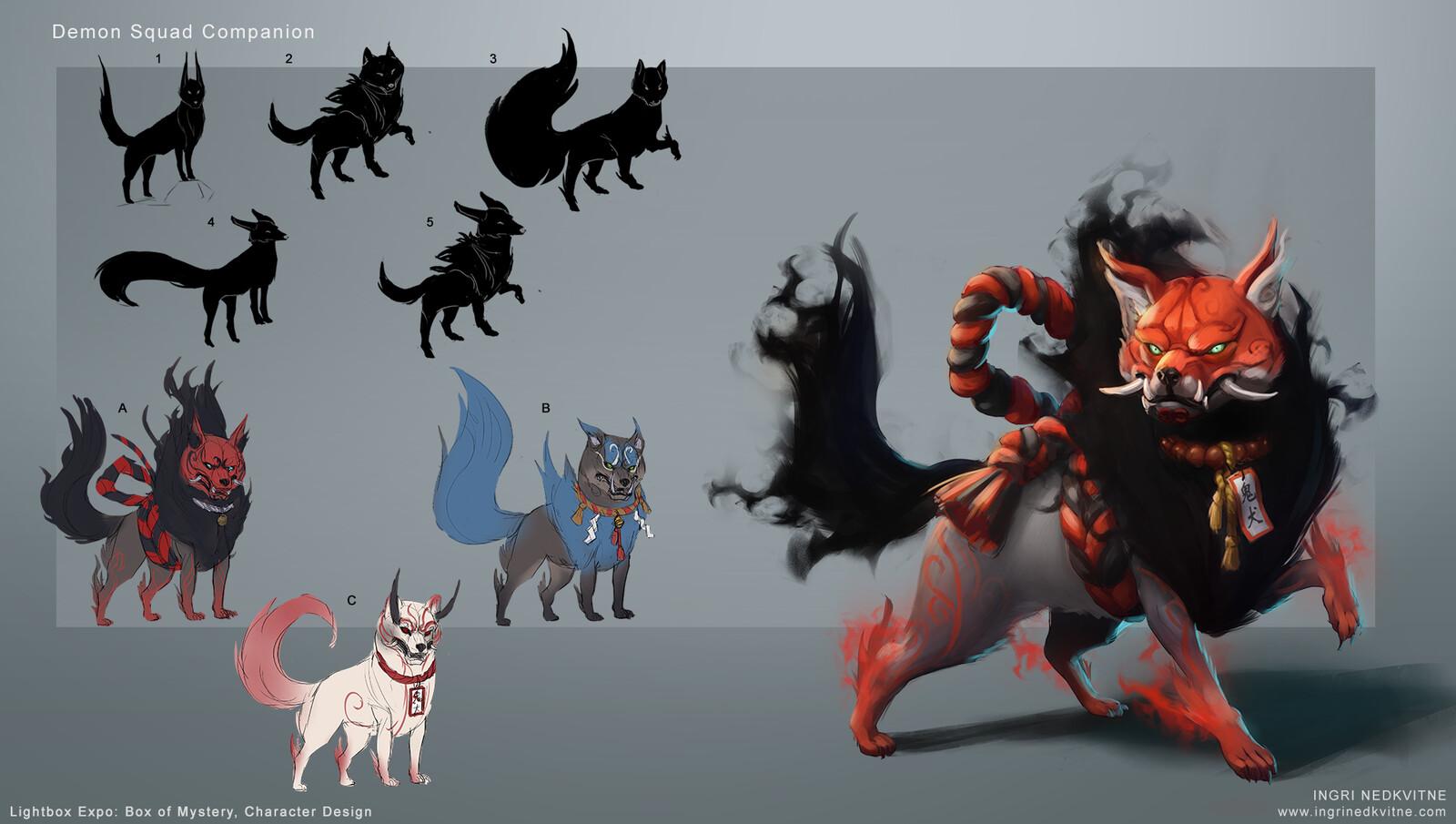 Iteration process for Demon Squad Companion