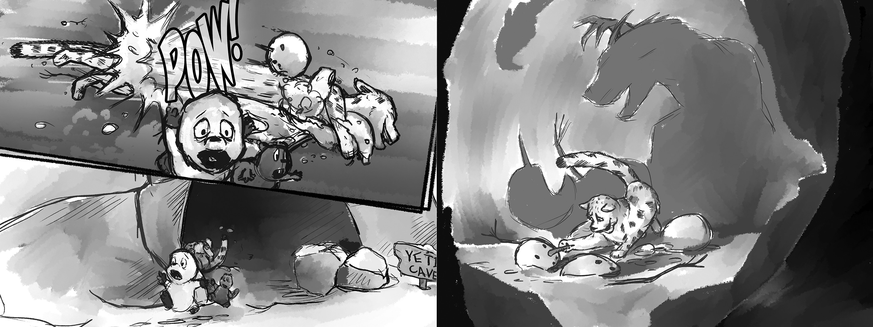 Dummy sketch for pages 19 & 20