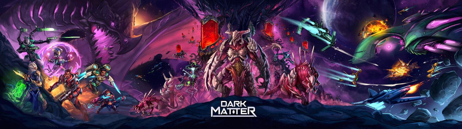 Dark Matter - DM Screen artwork