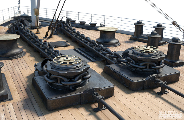 Montage Titanic Trumpeter 1/200 - Page 10 Vasilije-ristovic-06