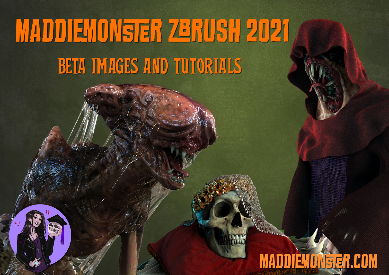 ZBrush 2021 Beta Test images and tutorials