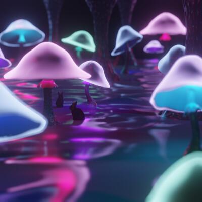 Zoelie roy lemieux fungusforest 01