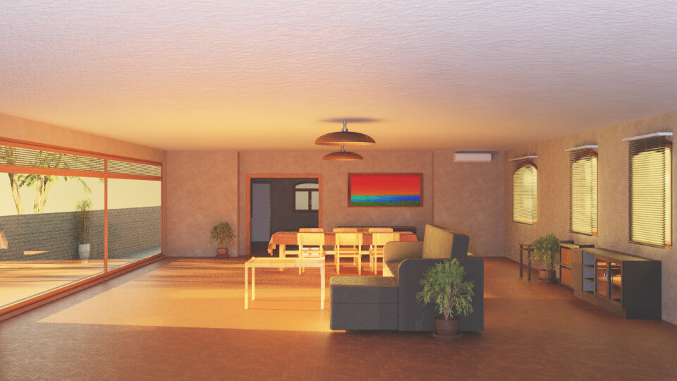 Sunlit Room 1