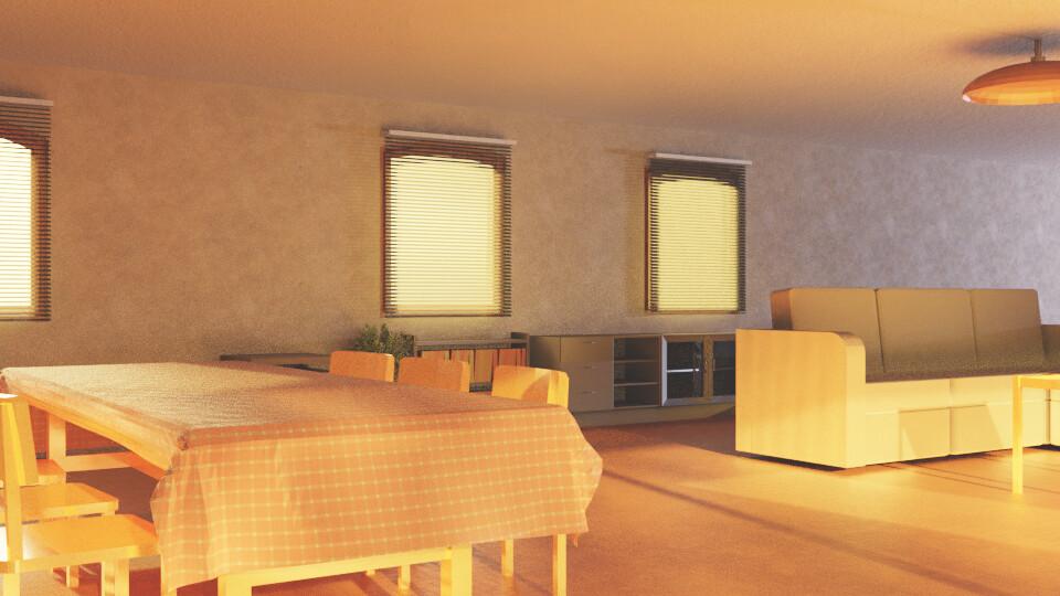 Sunlit Room 5