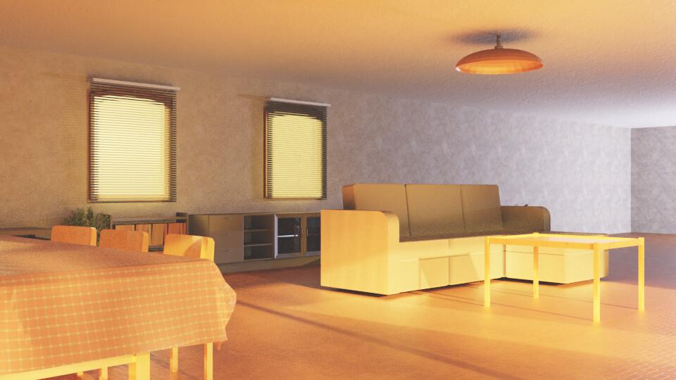 Sunlit Room 6