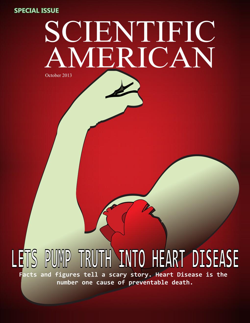 Mock Scientific American Magazine Cover
