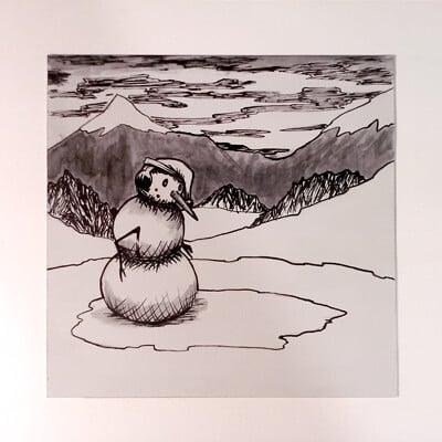 Daniel melendez boelian snowman