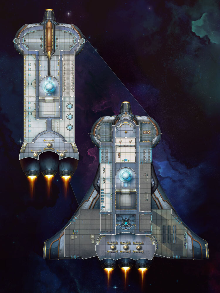 Starfinder Starship Odd and Ends