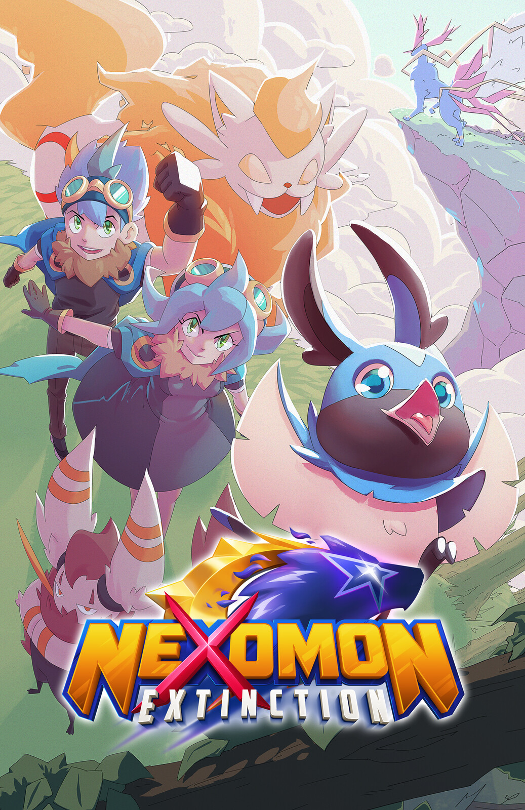Nexomon Cover Art