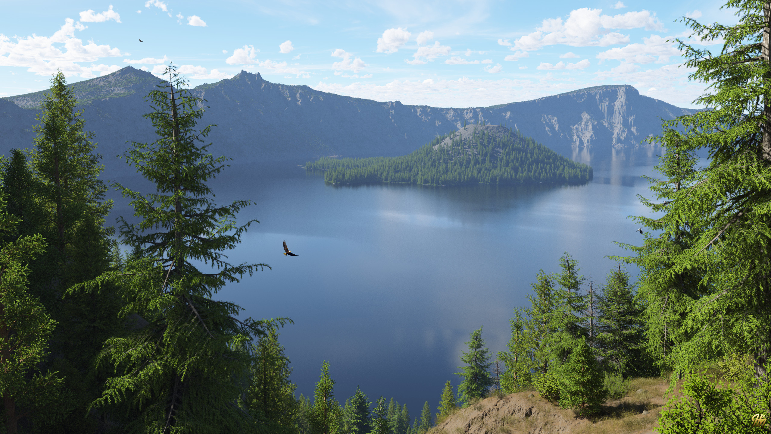 Crater Lake 20200814TG