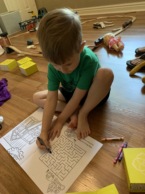 Henry coloring