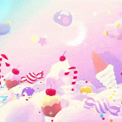 Judy kao artstation tykcartoon magic candy land 08152020