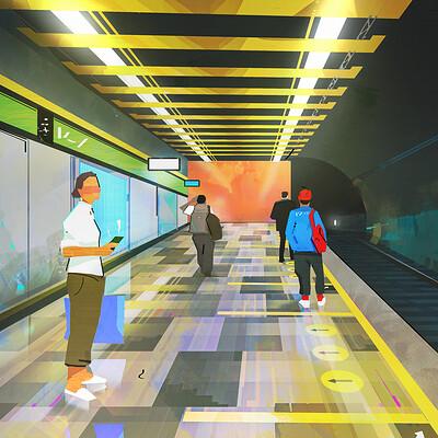 Antar metro