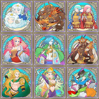Morechand 112 zodiacset s