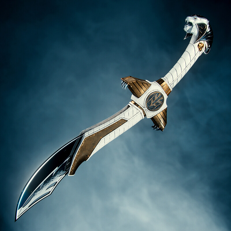 Power Rangers - White Ranger Saba Sword