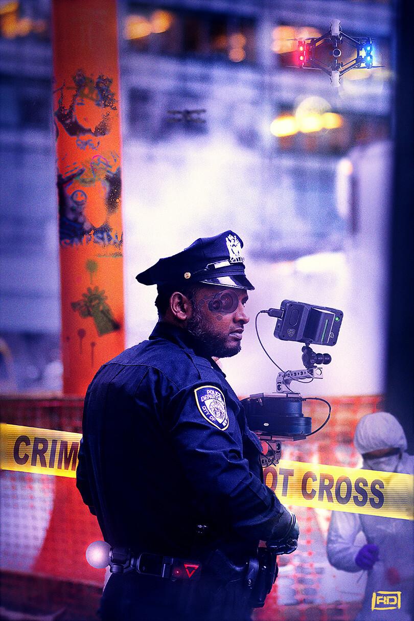 New York 2130 : Police Departement unite