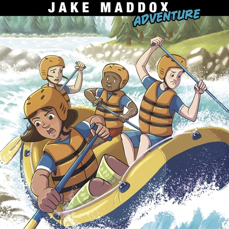 Jake Maddox Adventures – River Race by ©Capstone