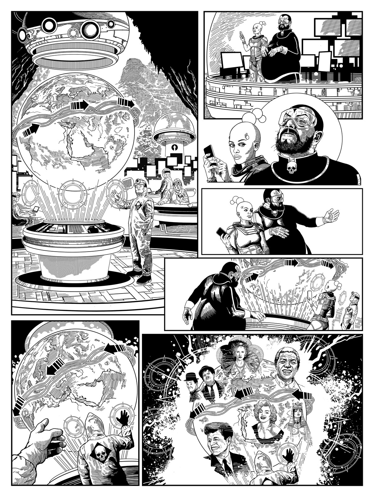 Page 1 The Collector / Issue 2 of The 77 B&W