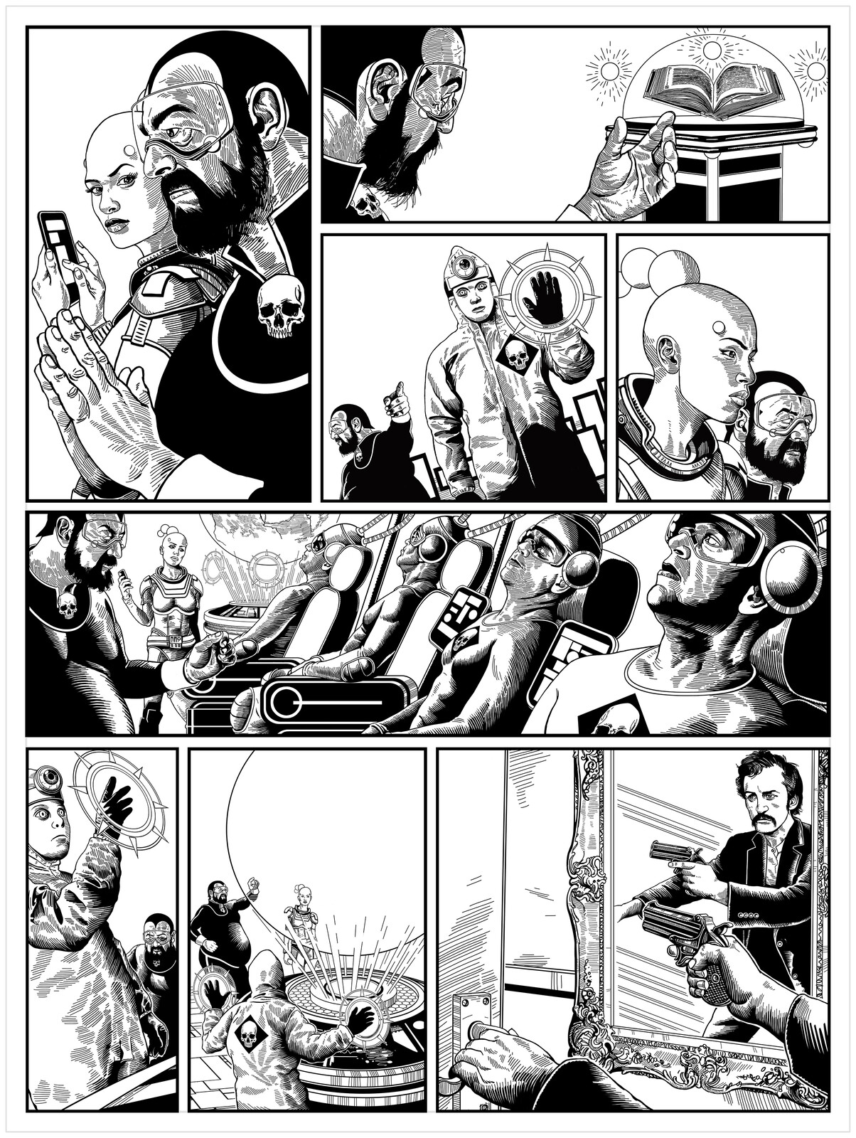 Page 2 The Collector / Issue 2 of The 77 B&W