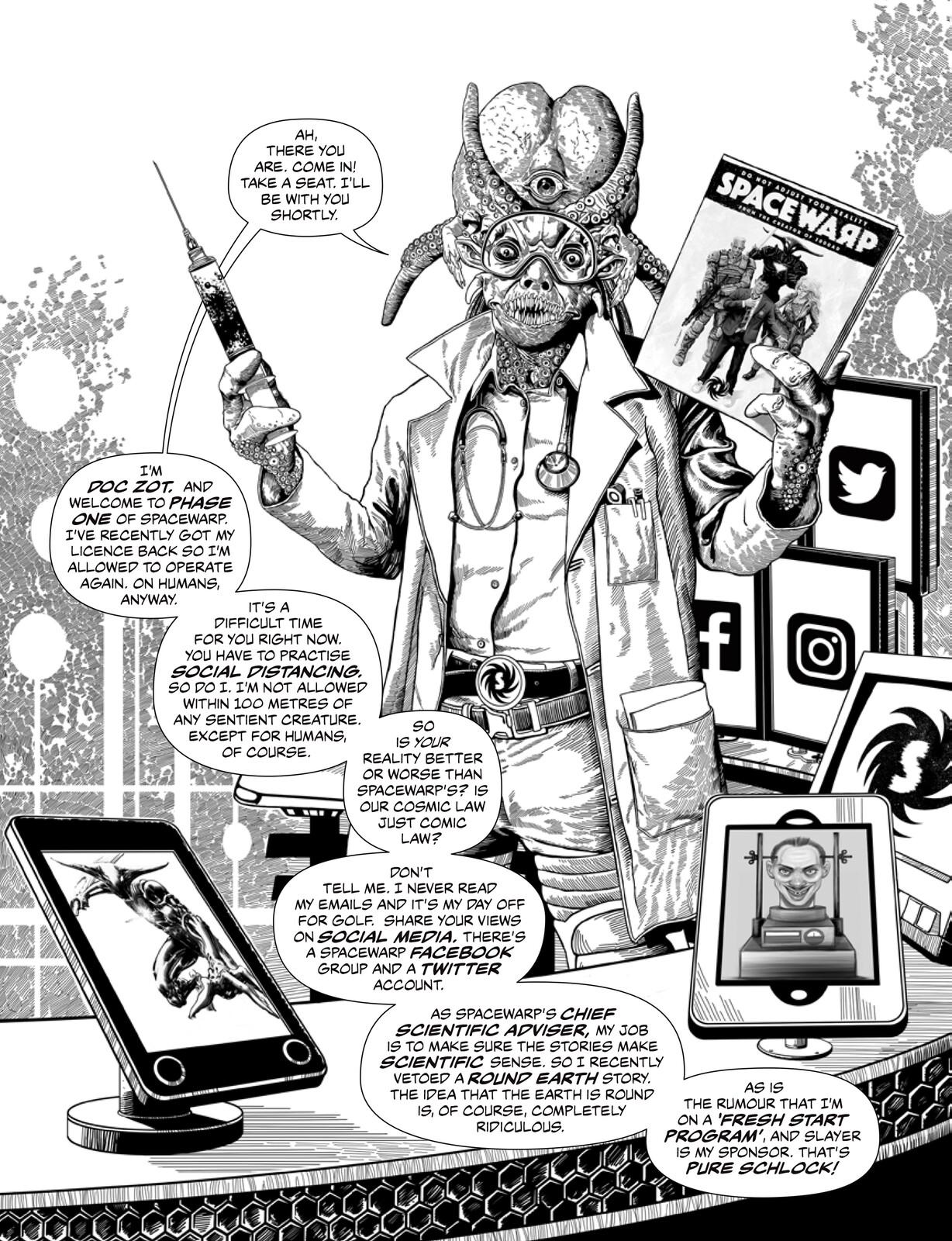 Doc Zot Illustration 1 lettered Spacewarpcomic.com