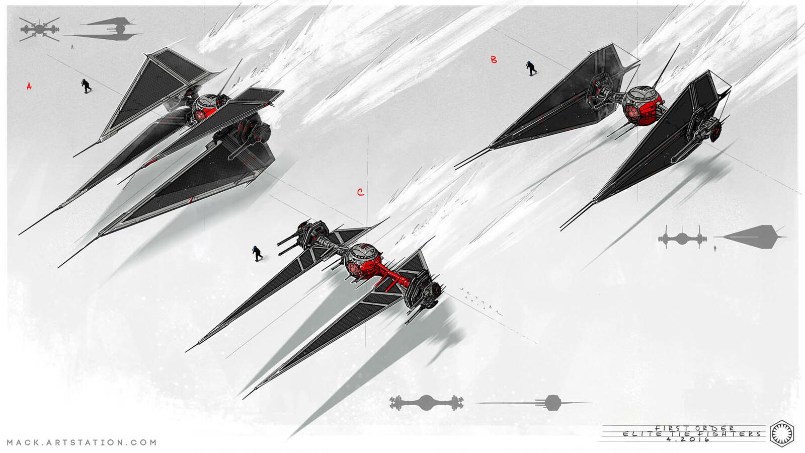 First Order: Tie Fighter