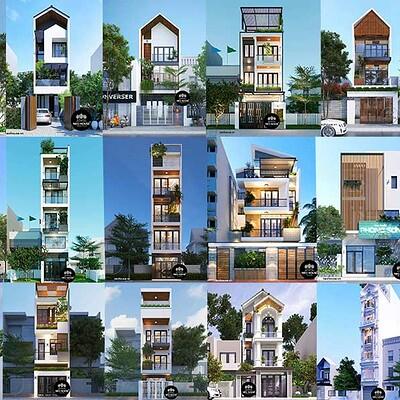 Neohouse architecture thiet ke nha pho dep bia