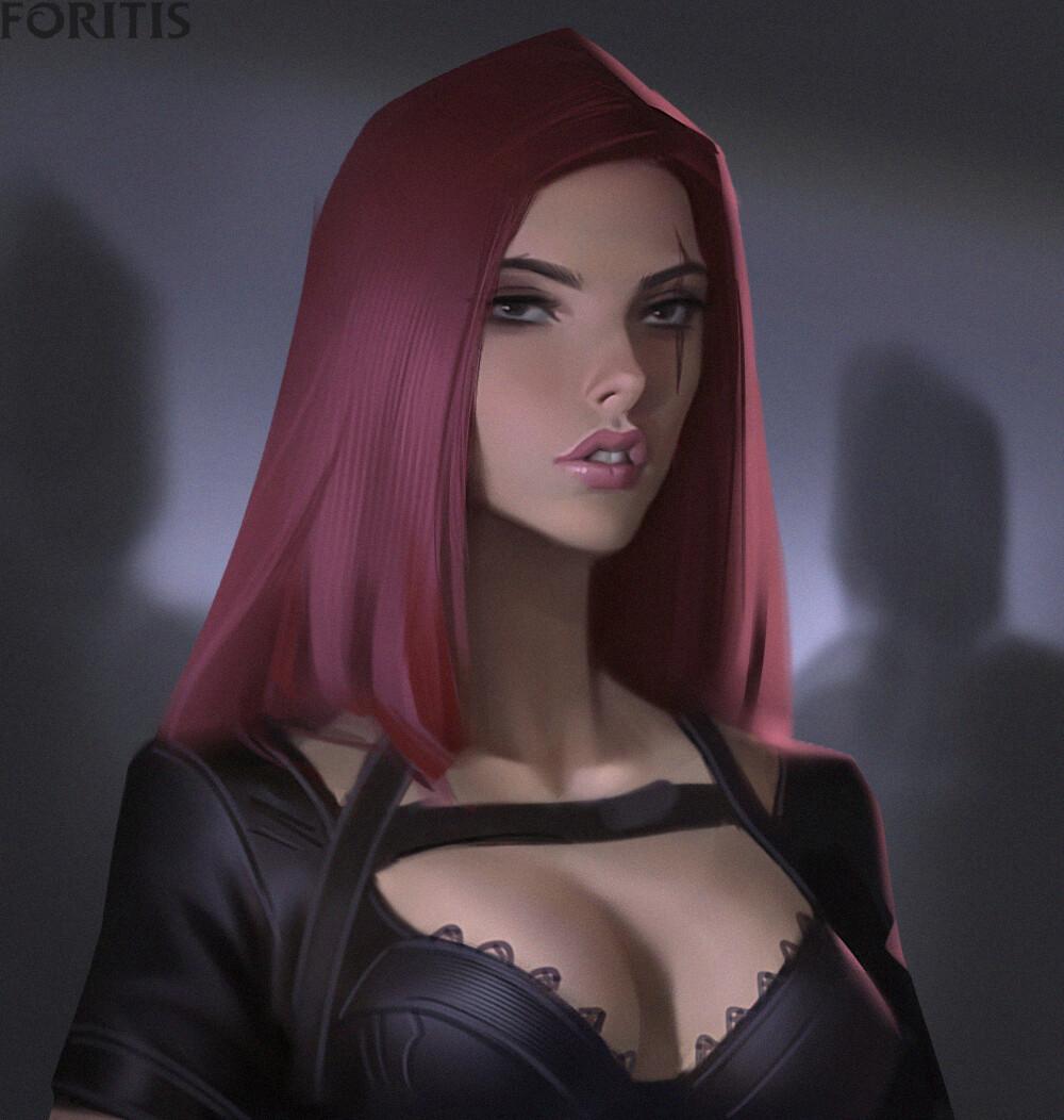 Katarina Lol Fanart