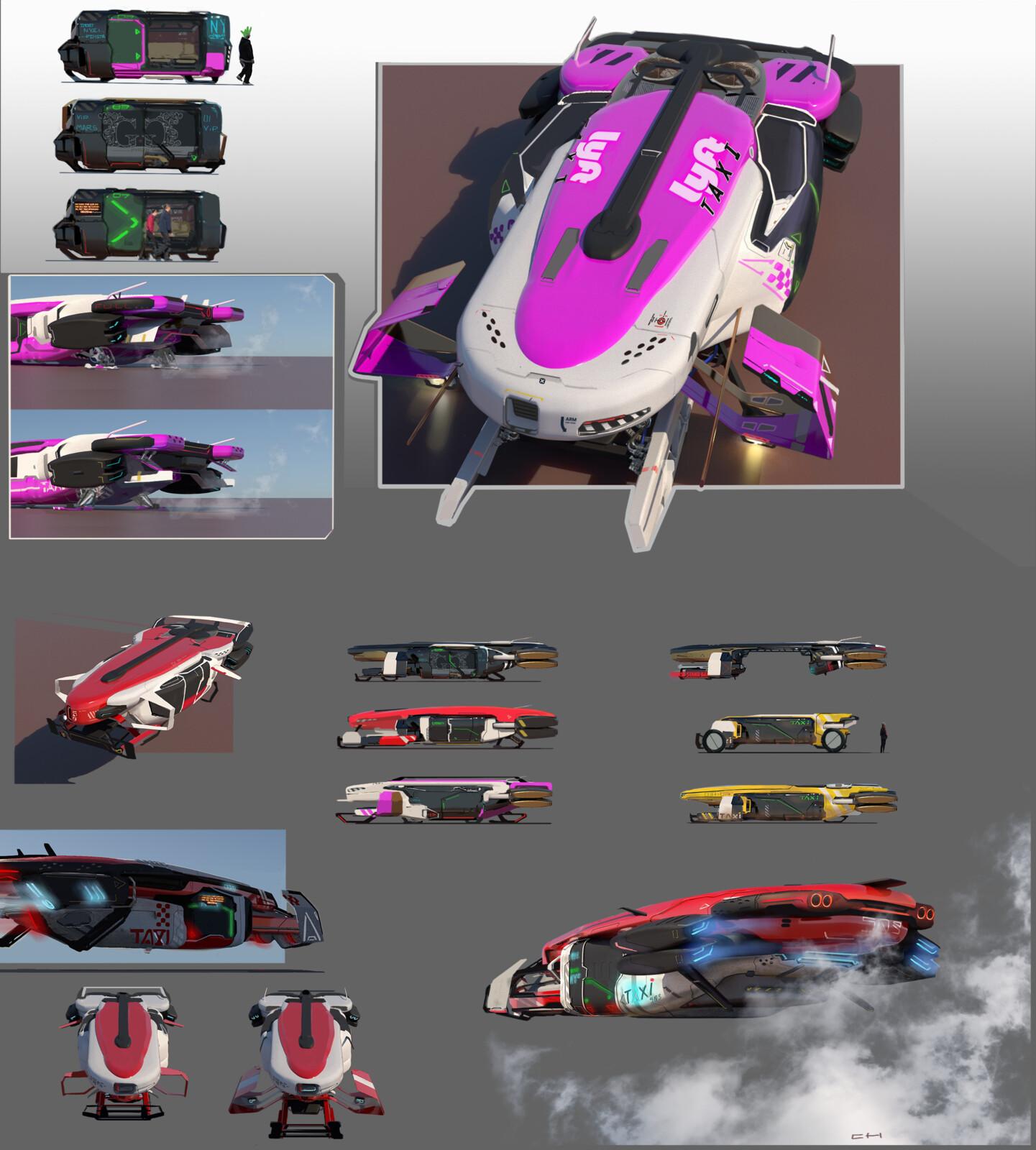 Taxi/Pod Transport Concepts