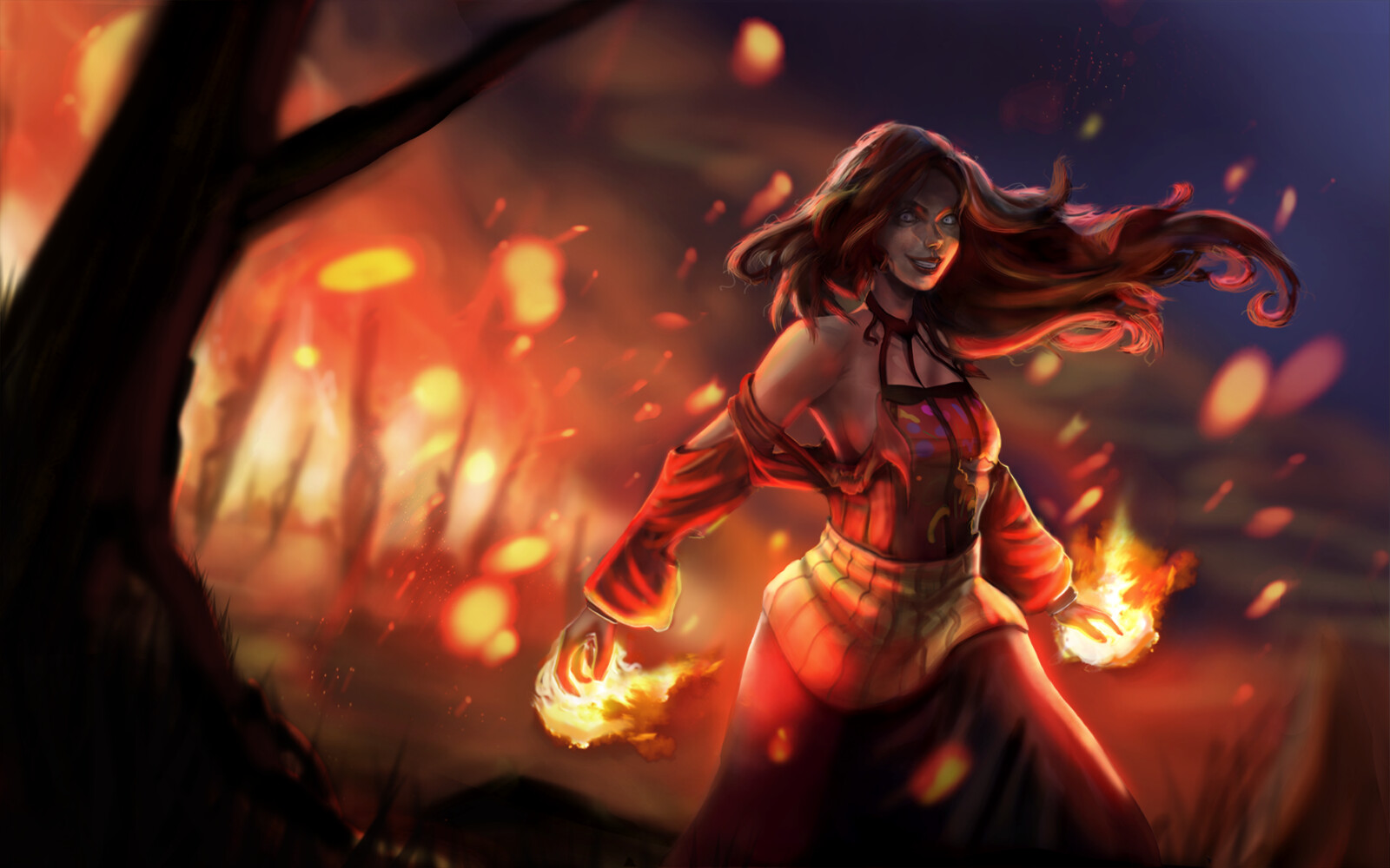 Ignis - Ragana Splashart