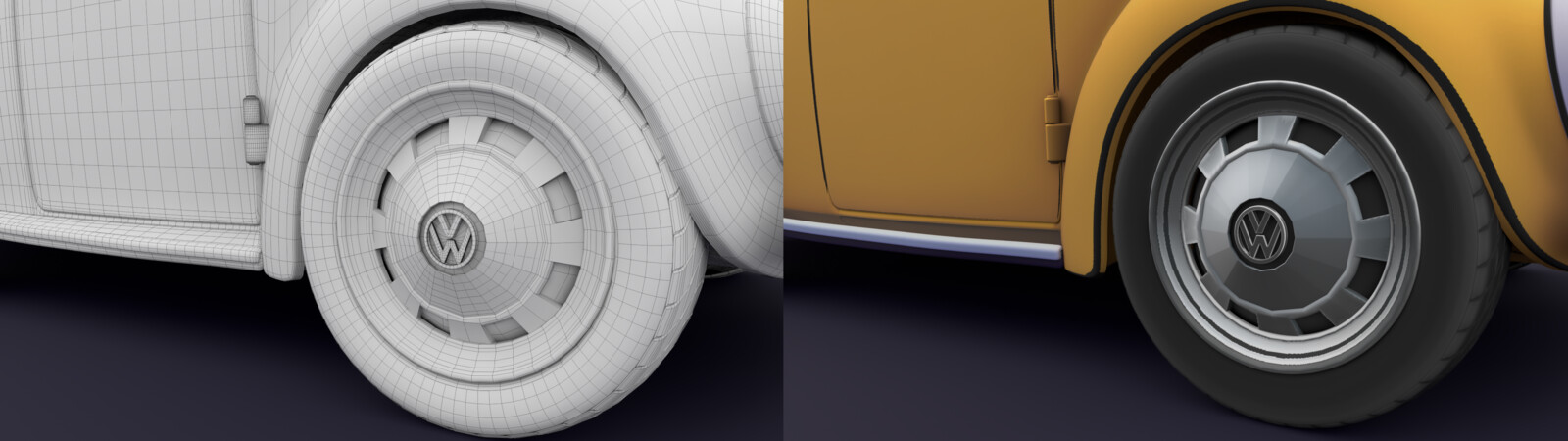 Wheels: Closeup