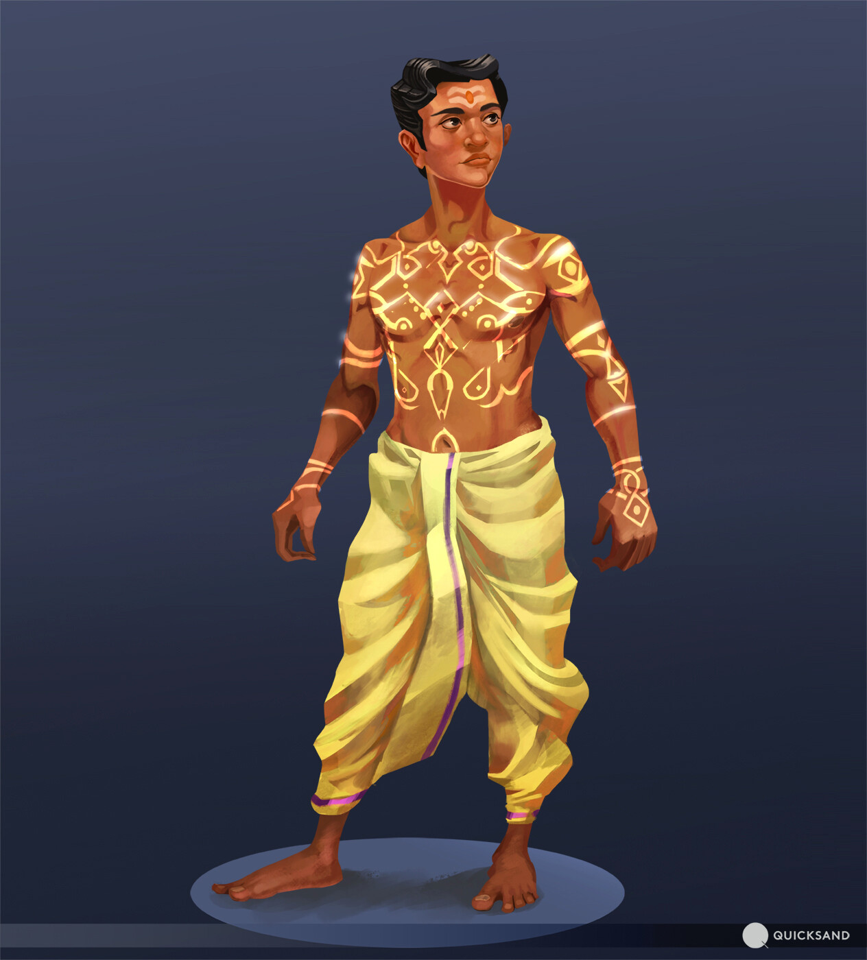 Kolam markings 02 version