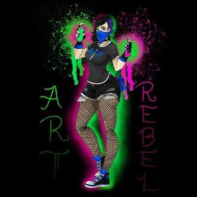 Kassandra alfaro d35 art rebel w