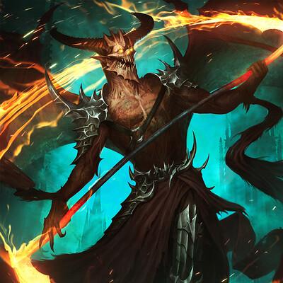 Eryk szczygiel demons typhonart wwg 9