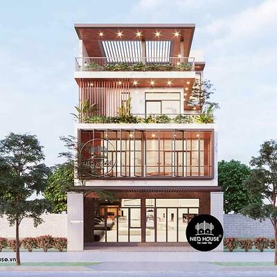 Neohouse architecture nha pho 3 tang hien dai 1
