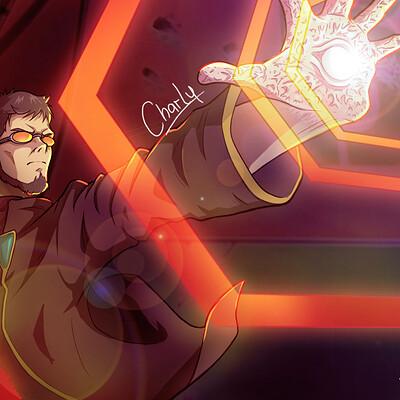 Charly animestation gendo final con firma