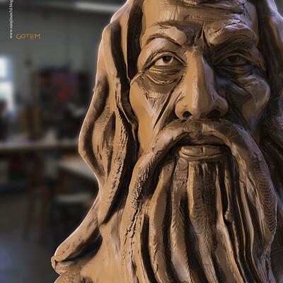 Surajit sen gothm 2 1 digital sculpture surajitsen aug2020a
