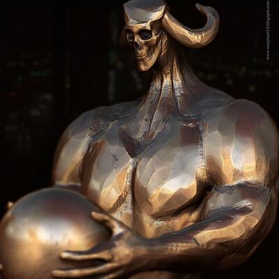 Surajit sen onlooker2 2 digital sculpture surajitsen aug2020 a