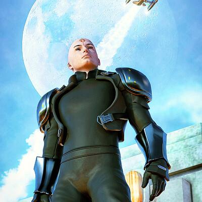 Luca oleastri galactic hero