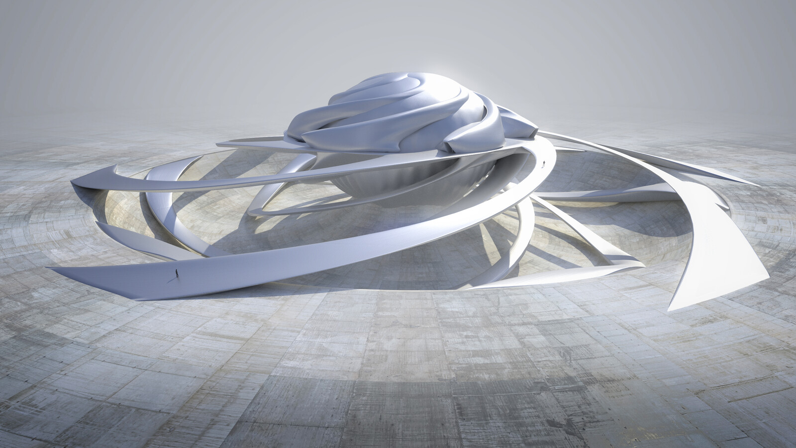 Pavilion - unused concept for Cosmos : Possible Worlds