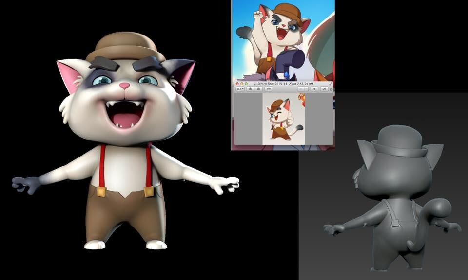 Shuffle Cats Character