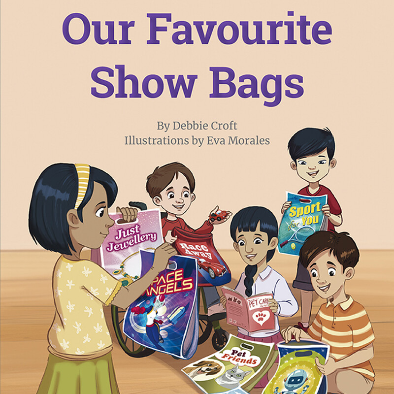 Our Favourite Show Bags by ©Nelson Cengage Learning