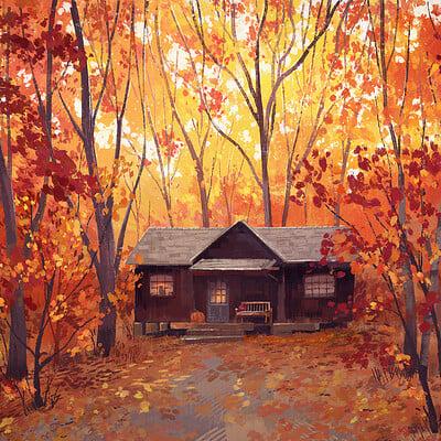 Madeleine bellwoar autumn cabin s