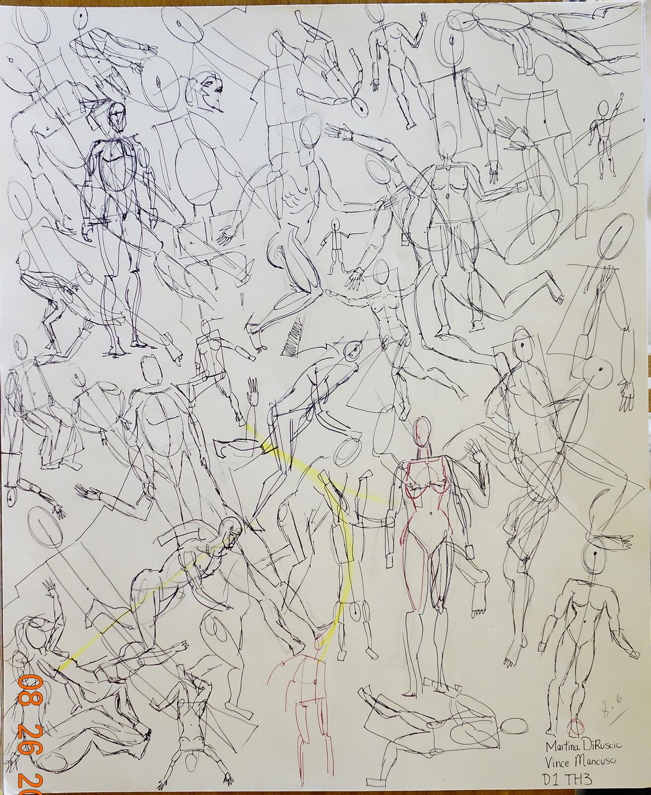 Project 13:  Manikin Figures in motion
