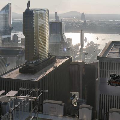 Pradal aurele futuristic city